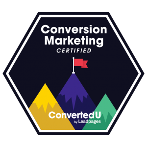 Certified Conversion Marketer